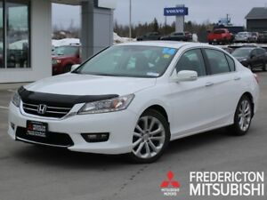 2014 Honda Accord Touring V6 HEATED LEATHER | WARRANTY TO 100K