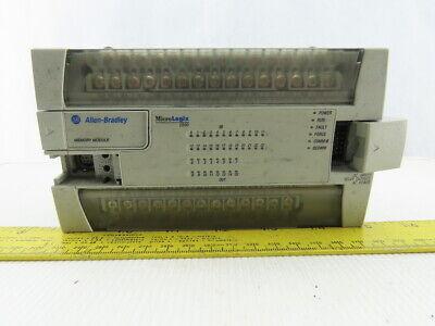 Allen Bradley 1762-l40bwa Micrologix 1200 Ser A Rev A Frn 1 Plc Io Module 24vdc