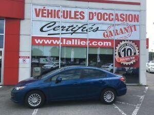 2013 Honda Civic LX ** TRÈS BAS KILO** AUCUN ACCIDENT CARPROOF