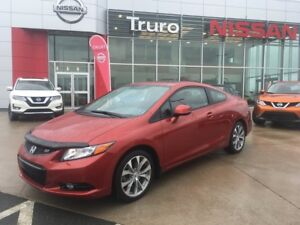 2012 Honda Civic Cpe Si In almost new condition! Only 47019km!