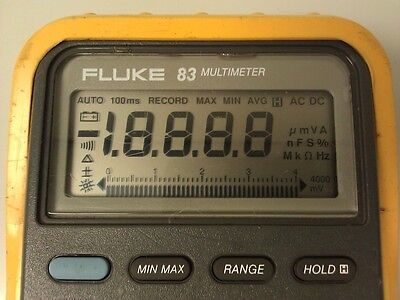 Fluke 83 Display Repair Kit And Step By Step Photo Instructions
