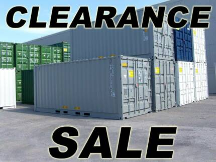 New and Used 20' Shipping Containers For Sale