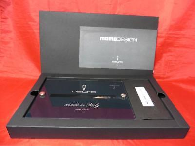 Delta Momo Design 30th Carbon Fiber Black Special Ltd  Fountain Pen 10/20