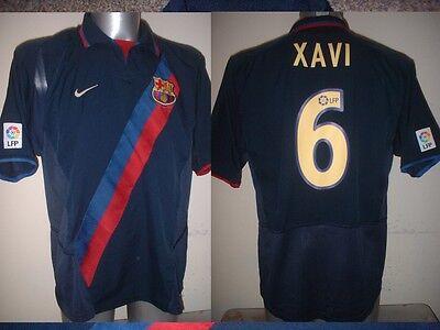 Barcelona XAVI Shirt Jersey Football Soccer Nike Adult Medium Spain Top Espana segunda mano  Embacar hacia Spain