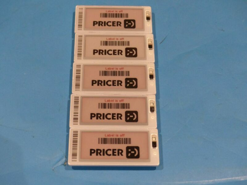 5* PRICER SMART TAG 1826 & 1825 DIGITAL PRICE TAGS