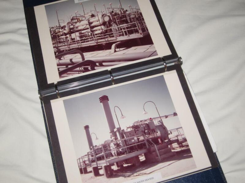 1978 Hateiba Esso Standard Oil Field Libya Project Report & Libya Photographs