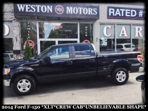 2014 Ford F-150 *XLT *CREW CAB* FULLY LOADED!