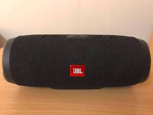 【AS NEW】JB Hi-Fi | JBL Charge 3 Portable Bluetooth Speaker Black Woodville South Charles Sturt Area Preview