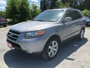 2007 Hyundai Santa Fe GLS LEATHER SUNROOF AWD