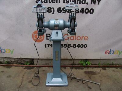 Baldor 10 Inch Pedestal Grinder 1.5 Hp Model 2021wd 208 230 460 Volts