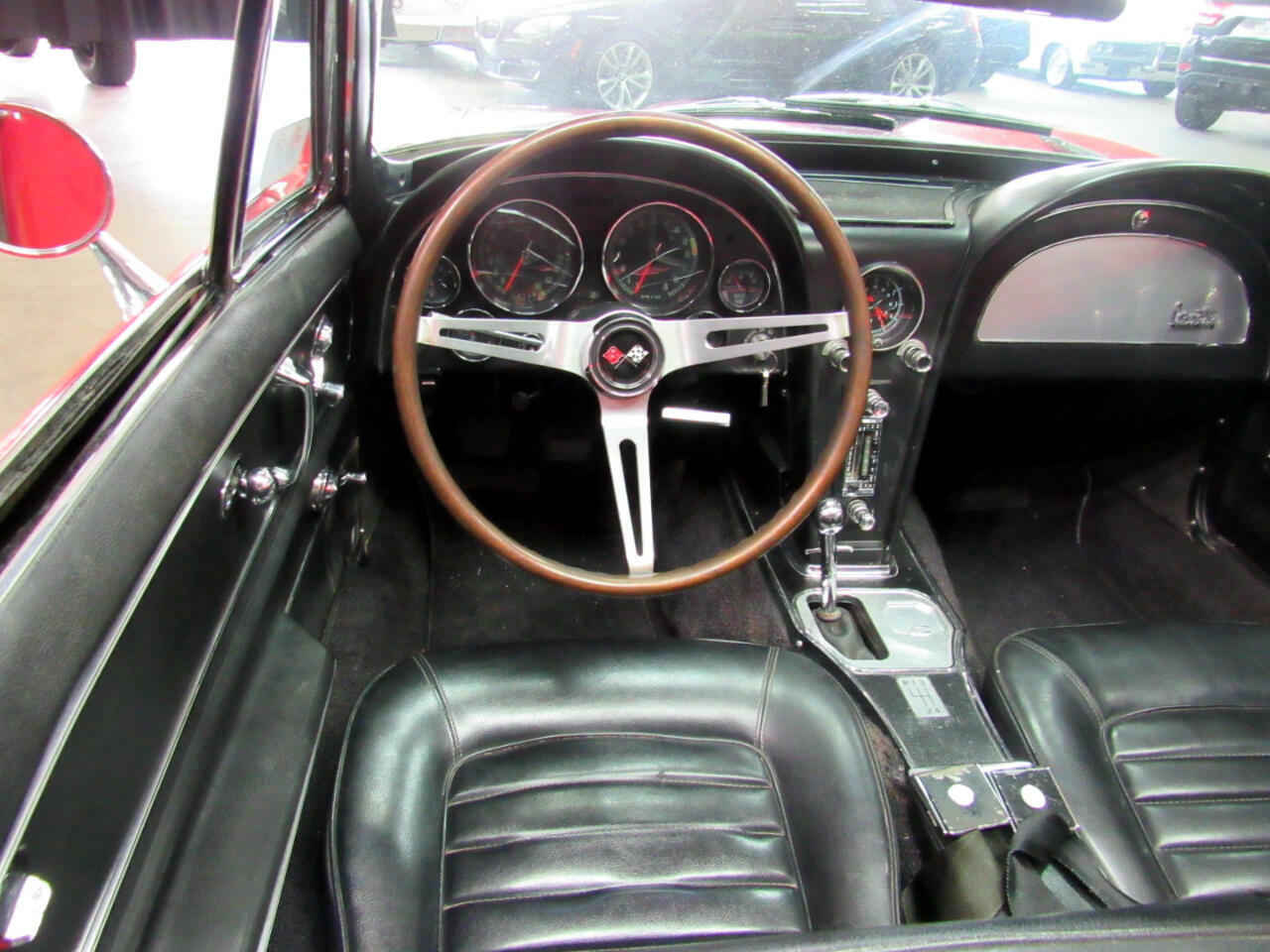1966 Red Chevrolet Corvette Convertible    C2 Corvette Photo 9