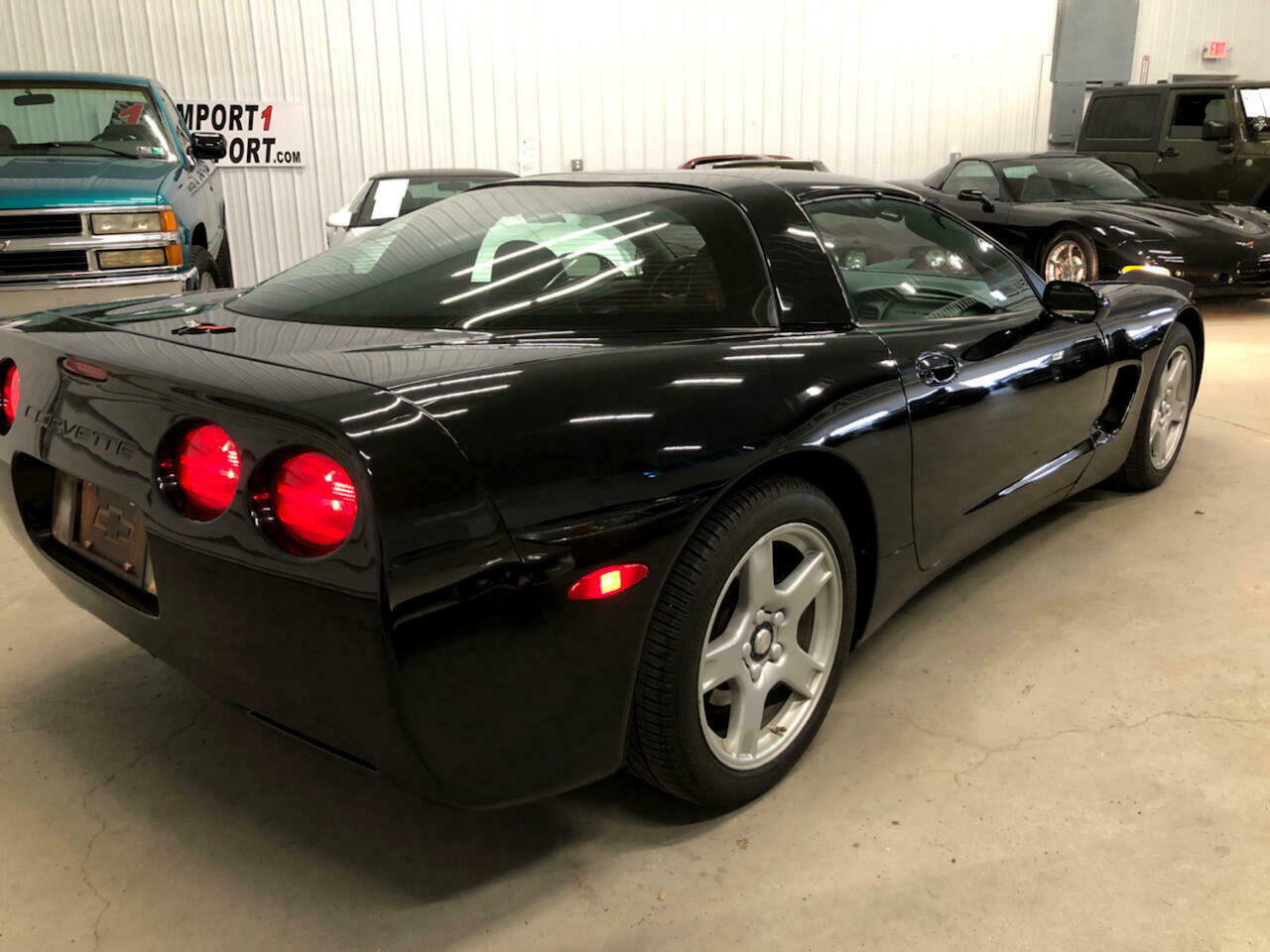 1999 Black Chevrolet Corvette Coupe  | C5 Corvette Photo 9