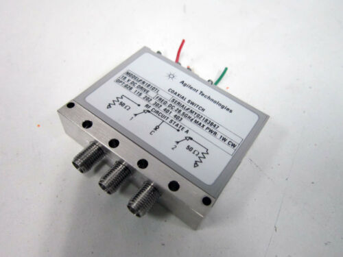 AGILENT N1810TL DC- 26.5 GHZ COAXIAL SWITCH 026 115 201 302 401 - HP KEYSIGHT