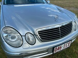 2003 Mercedes-Benz E500 211 Avantgarde Silver 5 Speed Auto Touchshift Sedan Applethorpe Southern Downs Preview