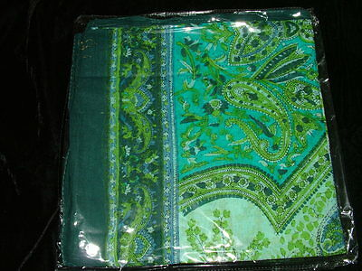 Scarf Neck Scarf Arabescato Cotton Ethnic India cm 100X100 7