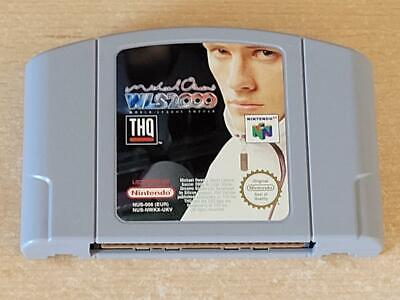 Michael Owen's Wls 2000 N64 Nintendo 64GB Pal World League Soccer (Cart Only)