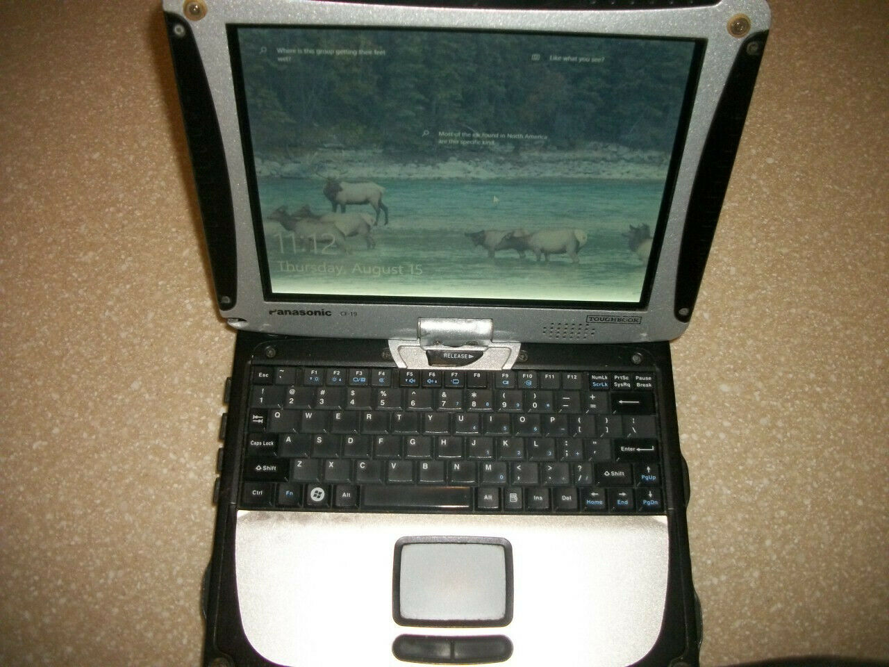 Panasonic Toughbook CF-19 10.4-Inch (250GB,Intel Core i5 1st Generation