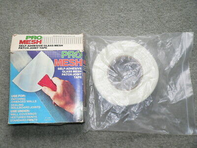 Pro Mesh 2x 300 Self Adhesive Glass Mesh Patch Joint Tape