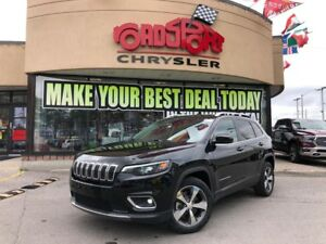 2019 Jeep Cherokee Limited REAR CAM 8.4 RADIO HTED WHEEL PUSH ST