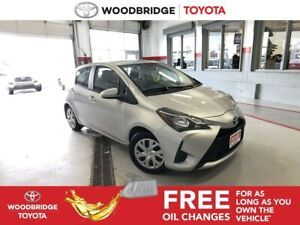 2018 Toyota Yaris LE|HATCH|H-SEATS|R-CAM|SAFETY-SEN|B-TOOTH