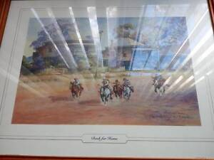 d'Arcy Doyle framed art print: Dash for Home Long Forest Moorabool Area Preview
