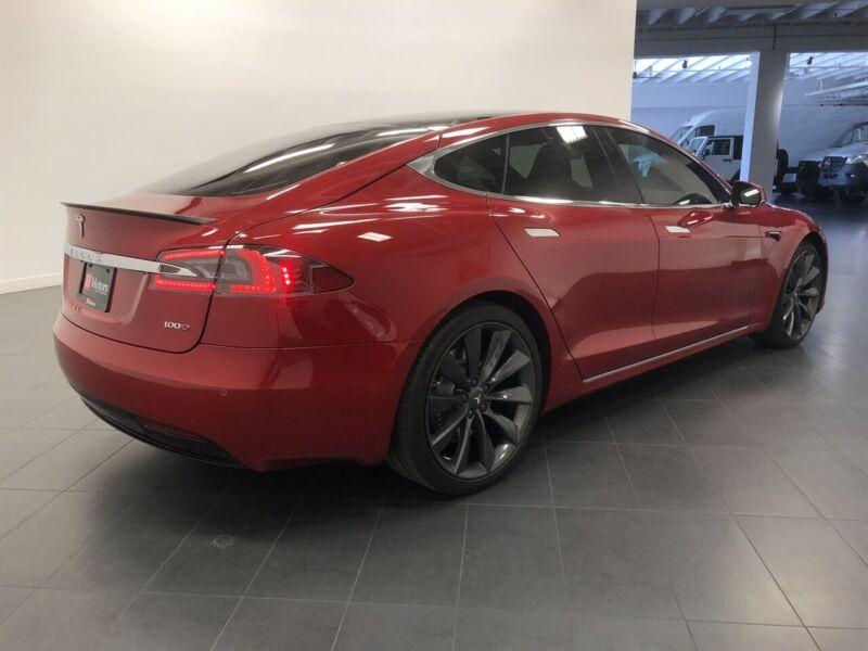 Image 4 Coche Americano usado Tesla Model S 2017