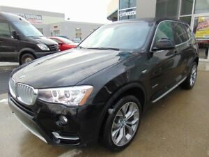 2017 BMW X3 28000KM XDrive28i CUIR TOIT PANORAMIQUE GPS