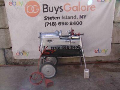 Ridgid 535 Pipe Threader Threading Machine 300 1224 1822 Works Fine 2