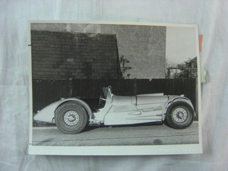 Vintage Press Photo Custom Body European Racing Car 805