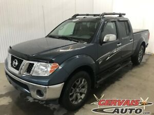 2014 Nissan Frontier PRO-4X 4x4 Crew GPS Cuir Toit Ouvrant Mags