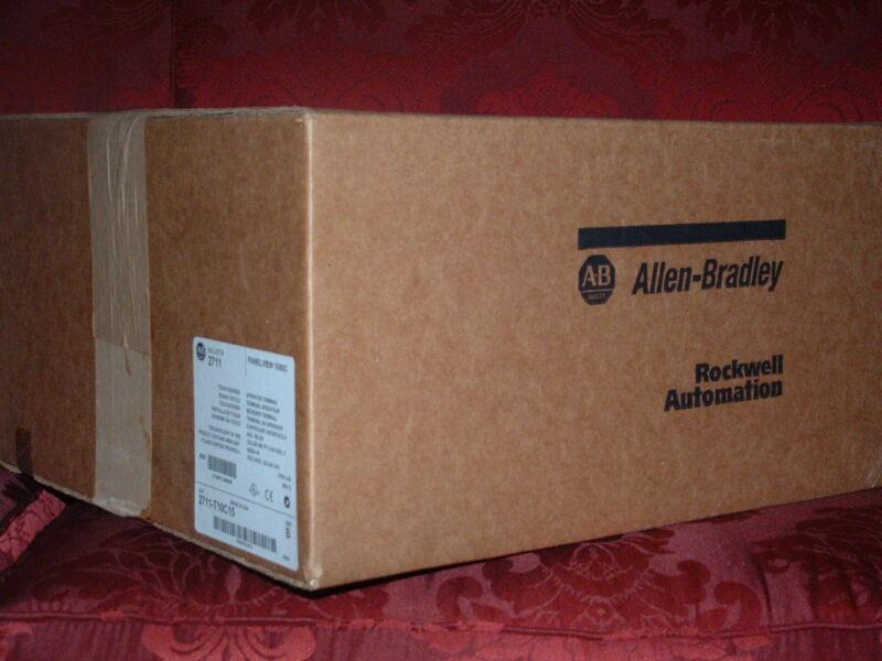 ALLEN BRADLEY  PV PLUS 1250    2711P-T12C15A1    2711PT12C15A1