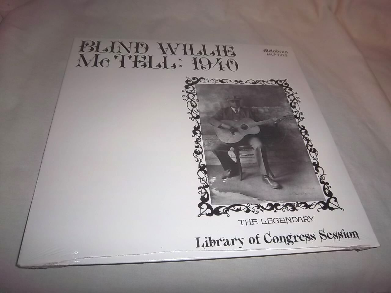 BLIND WILLIE McTELL-1940-LEGENDARY LIBRARY OF CONGRESS MLP 7323 NEW SEALED LP