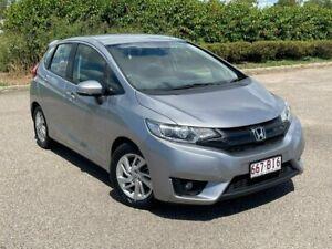 2016 Honda Jazz GF MY16 VTi Silver 1 Speed Constant Variable Hatchback Garbutt Townsville City Preview