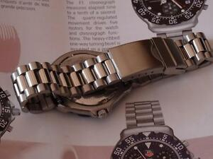 BRACELET STRAP BAND replacement TO FIT TAG HEUER VINTAGE FORMULA ONE F1 / CHRONO