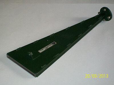 Flann Microwave Waveguide Sector Horn Antenna Wr19 40-60 Ghz Fmi Ham Q Band