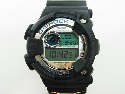 G-Shock Frogman DW-9900 WC WCCS Black Titanium Limited Casio Watch EX (8200 8201