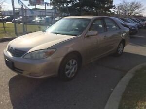 2003 Toyota Camry LE,AUTO,4CYL,SAFET+3YEARS WARRANTY INCLUDED