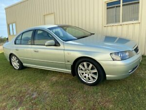 2003 Ford Fairmont BA Ghia Silver 4 Speed Auto Seq Sportshift Sedan Applethorpe Southern Downs Preview