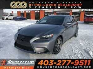 2016 Lexus IS 350 Leather / Sunroof / Back Up Cam