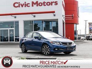 2014 Honda Civic Sedan TOURING - NAVIGATION, HEATED SEATS, BACK