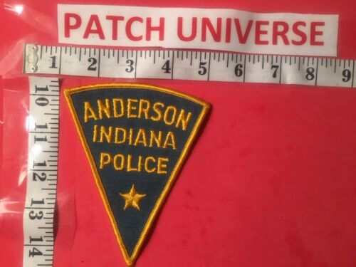 ANDERSON INDIANA POLICE  SHOULDER PATCH  D108