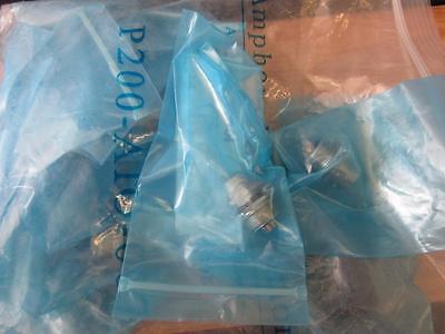 Amphenol P200-aio-007 Lot Of 18 Part Hdm12rfd1