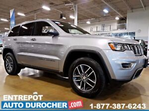 2017 Jeep Grand Cherokee LIMITED - 4X4 - AUTOMATIQUE - TOIT OUVR