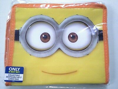 Despicable Me 2 MINION soft lunch box Best Buy Exclusive Brand New - (Best Lunch Box Brands)