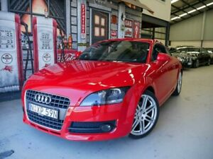 2007 Audi TT 8J S Tronic Red 6 Speed Sports Automatic Dual Clutch Coupe Rydalmere Parramatta Area Preview