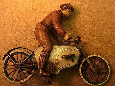 Großes Lehmann Echo Motorrad feiner Sammler zustand