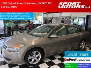 2007 Nissan Altima 3.5 SE+New Tires & Brakes+Sunroof+Heated Seat