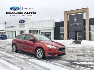 2015 Ford Focus SE / Volant chauffant / manuel 5 vitesse