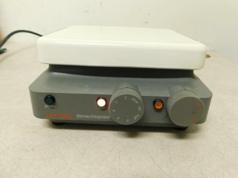 "Corning PC-320 Magnetic Laboratory Hotplate Stirrer 6"" x 7.5"""
