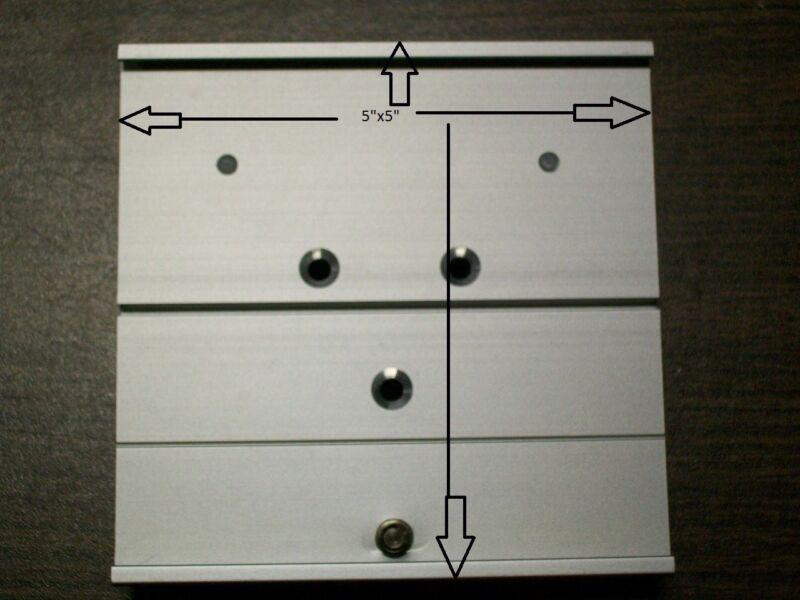 "GCX 5"" slide-in mounting base plate"